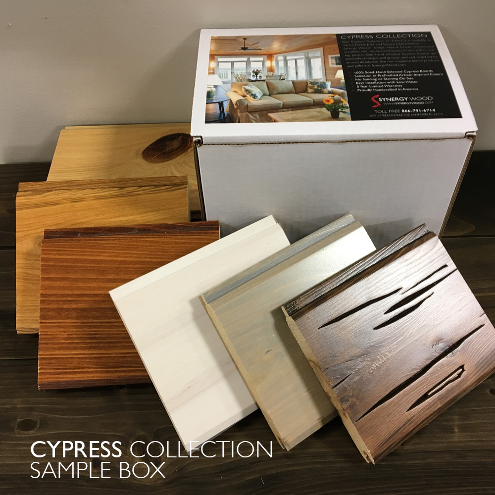 Cypress Collection Sample Box