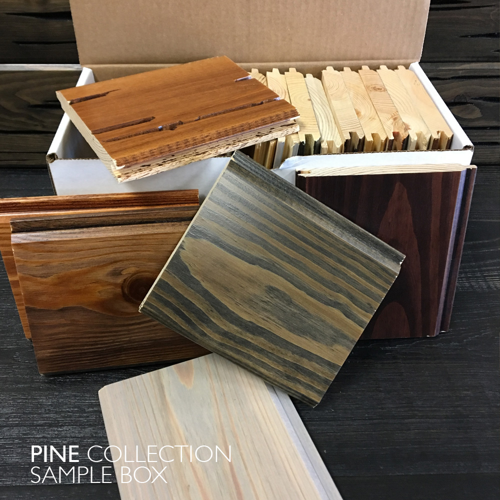 Pine Collection Sample Box