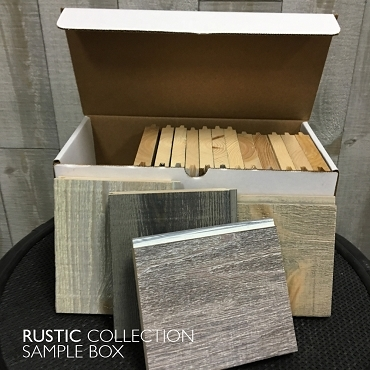 Rustic Collection Sample Box